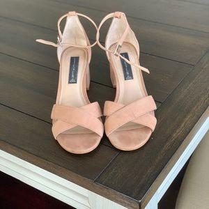 Steven by Steve Madden neutral heels